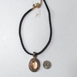 NWT Park Lane Amber Jewel necklace